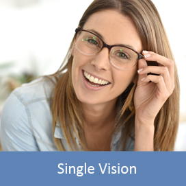 single-vision lenses reglazing service