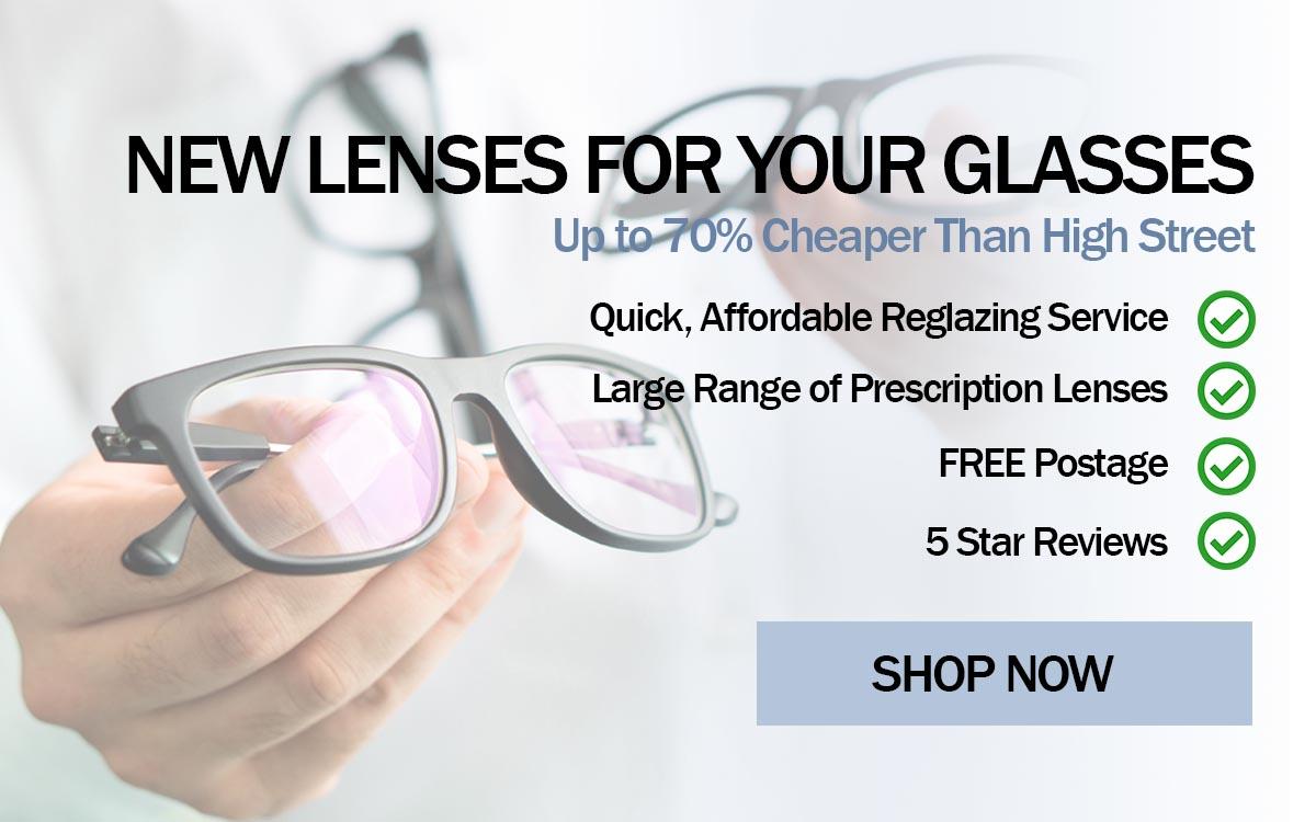 new lenses for your glasses frame