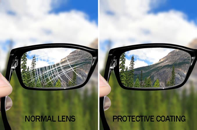 protective lens coating