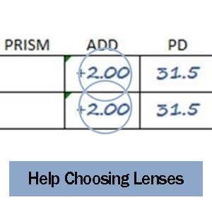 help choosing lenses