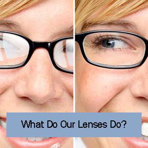 what do our lenses do